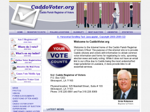 Caddo Parish Registrar of Voters