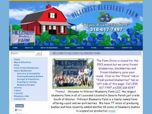 Hillcrest Blueberry Farm LLC