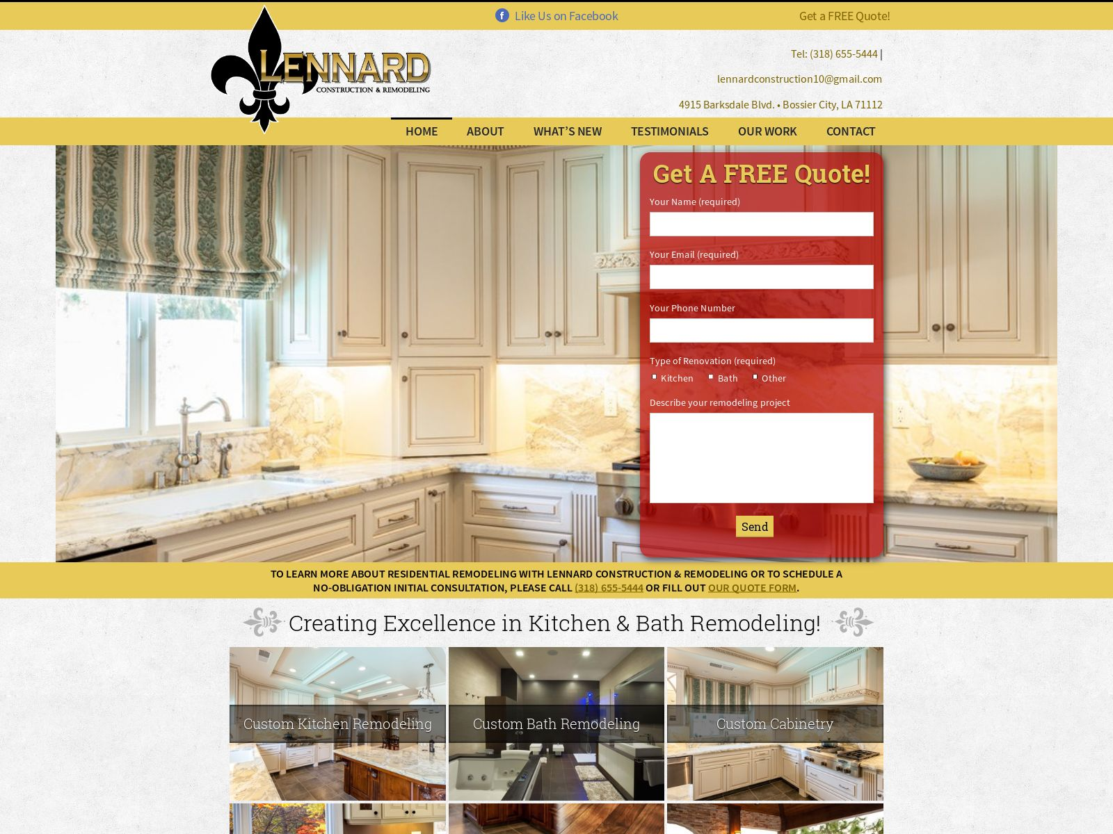 Bathroom Remodeling Bossier City bandwise llc | shreve ceo