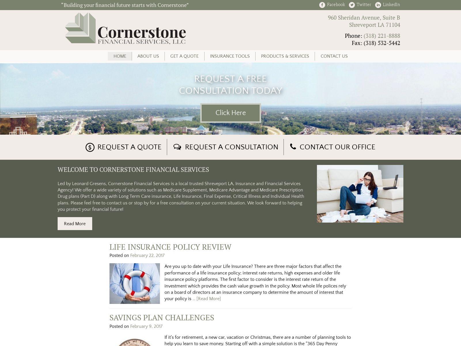 Mobile Home Insurance Shreveport